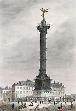 place bastille colonne juillet