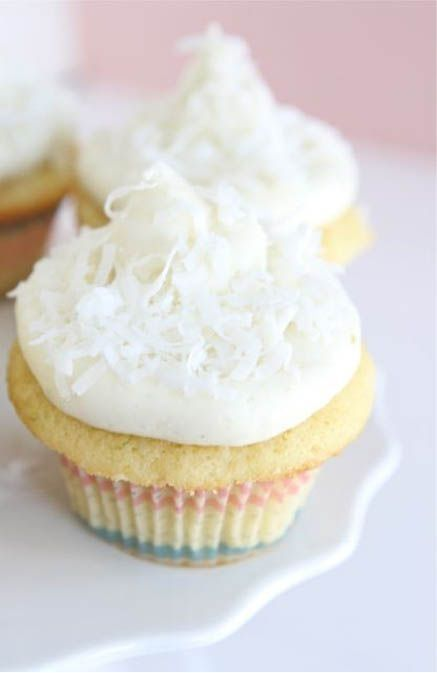 Coconut Lime Cupcakes by Two Peas and Their Pod