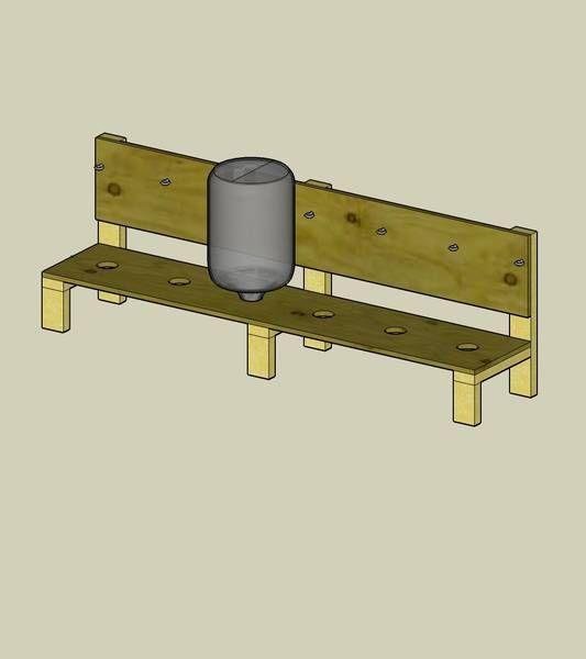 Carboy Storage/Drying Rack