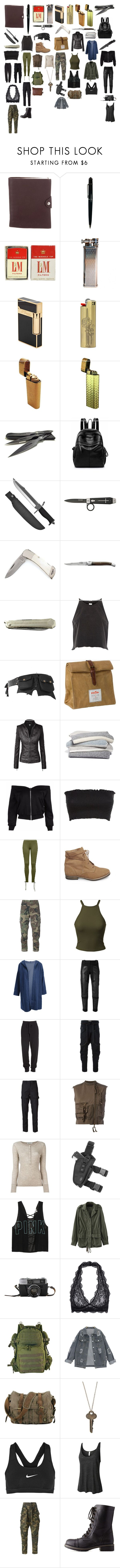 """""""Eh kind zero repeat forever"""" by skymothompson ❤ liked on Polyvore featuring Hermès, Cartier, S.T. Dupont, Whetstone Cutlery, Forge de Laguiole, River Island, Wild & Wolf, Barefoot Dreams, Puma and Steve Madden"""