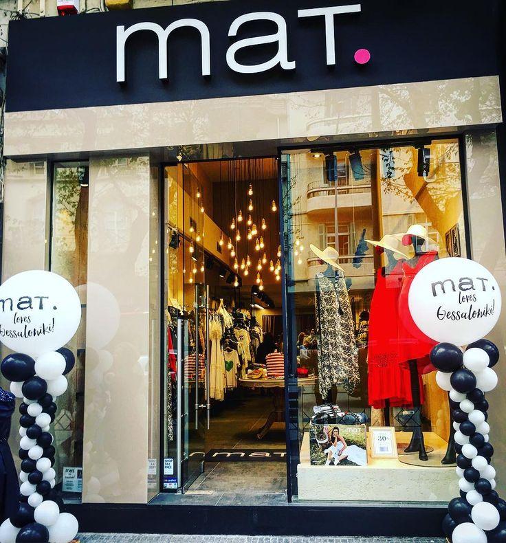 New Opening • Τσιμισκή 32 🎈Το νέο κατάστημα της #matfashion στο κέντρο της Θεσσαλονίκης είναι γεγονός! #matsimiski #lenamanta #psichogiosbooks #thessaloniki