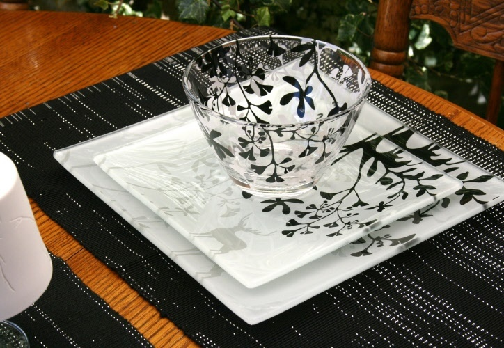 Fable Glass Dinner Set