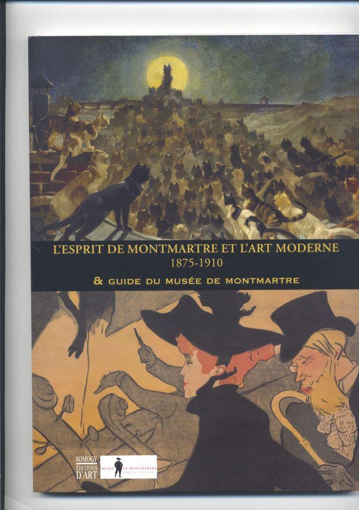 Ecco il pieghevole e il catalogo della mostra al Museo di Montmartre dove è presente anche il Museo del PRECINEMA con il Teatro delle Ombre Francesi dello Chat Noir!
