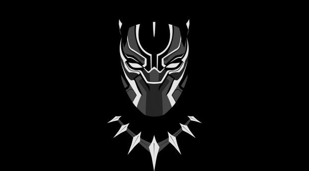 Black Panther Minimal Artwork Wallpaper Hd Movies 4k Wallpapers Images Photos And Background Desktop Wallpaper Black Black Panther Hd Wallpaper Marvel Wallpaper