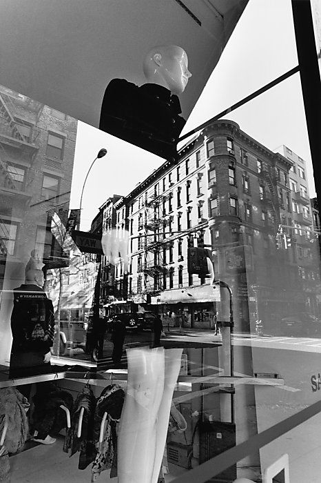 """New York City, 2008"" gelatin silver print by Lee Friedlander Photo"