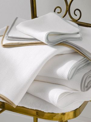 como towels by matouk doublefaced piqueterry towel - Matouk Towels