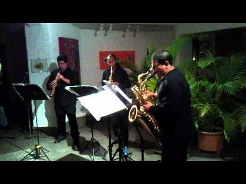 Cuarteto de saxofones EQUINOXIO Suite Hellenica