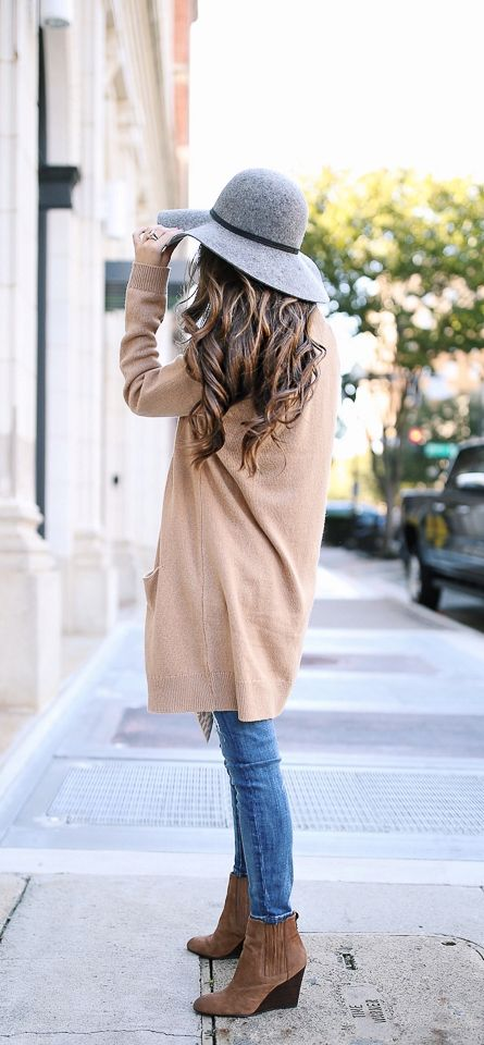Cute fall outfit look