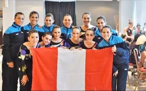 Image result for seleccion peruana de gimnasia aerobica
