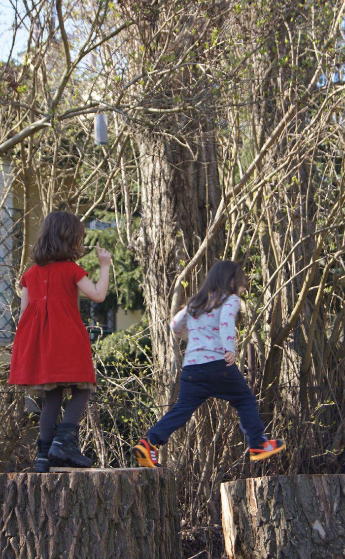 ilovemontessori.pl przedszkole warszawa - naturalny plac zabaw