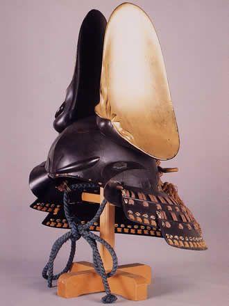 Samurai helmet, Azuchi Momoyama period (1568-1598), Japan 割蛤張懸兜