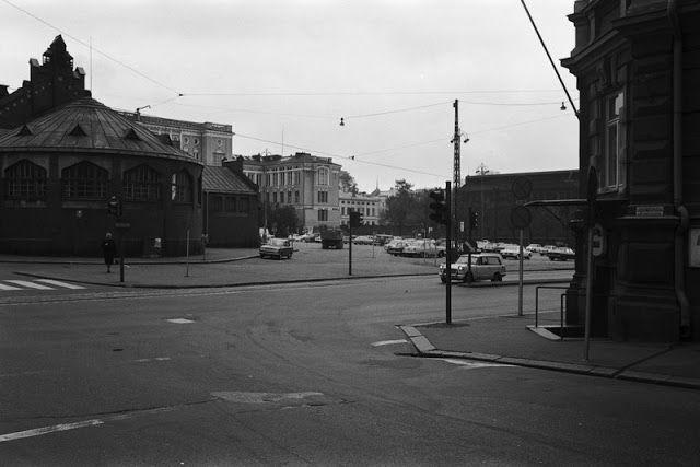 The Hietalahti Market Place, 1970.