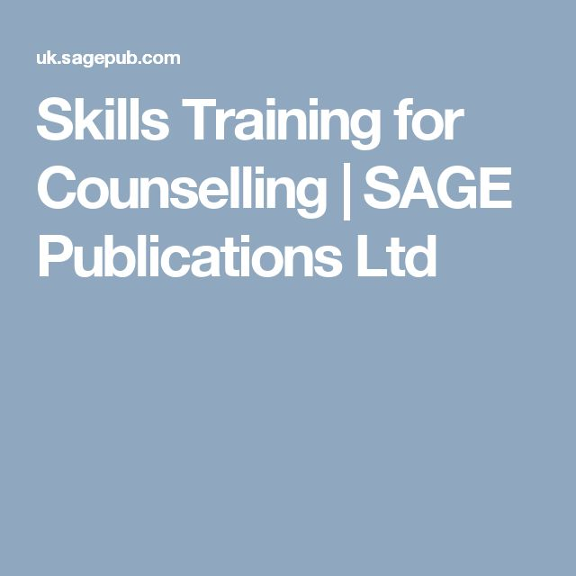 Skills Training for Counselling | SAGE Publications Ltd