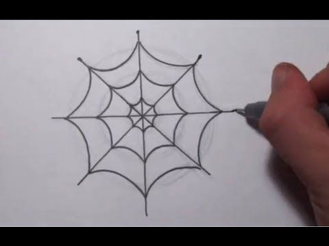 how to draw charlotte the spider