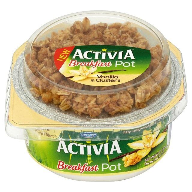 Danone Activia Breakfast Pot Vanilla Yogurt at Ocado