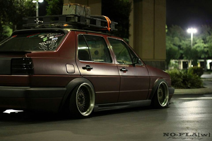 Down and stretched MKI Jetta