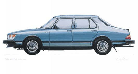 Saab 900. My first car which I miss almost every day!