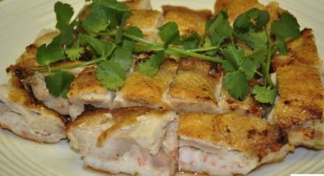 Crispy Shrimp-Stuffed Chicken