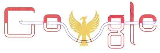 Google's doodle today... Happy Independence Day Indonesia ♥