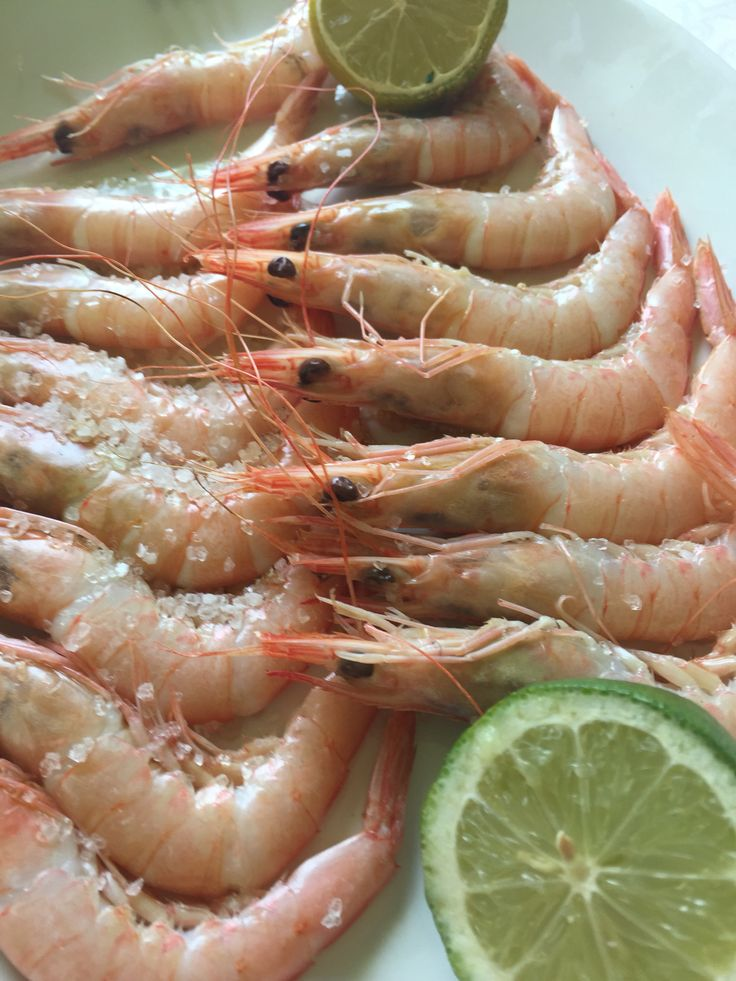 Superb prawns at Juanito Juan, Malags, Spain