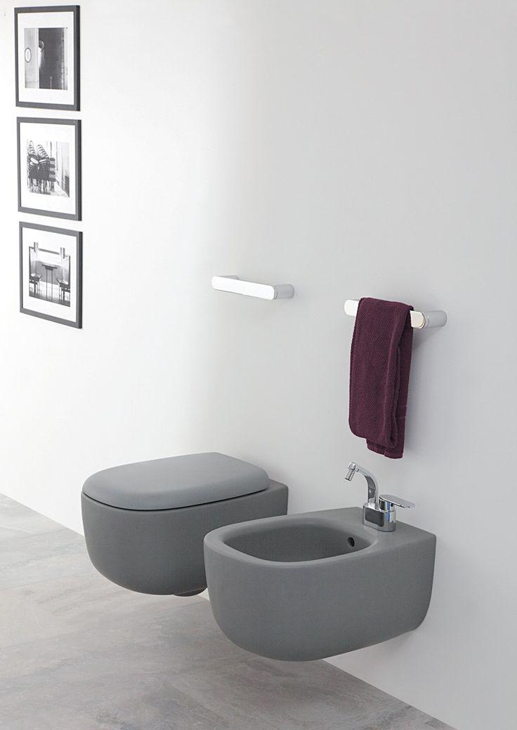 BONOLA Hängendes WC by CERAMICA FLAMINIA Design Jasper Morrison