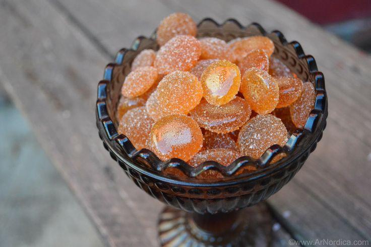 ArNordica: Caramelos de miel | Honey hard candy