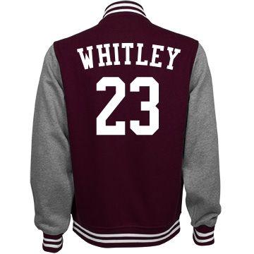 Whitley football jacket