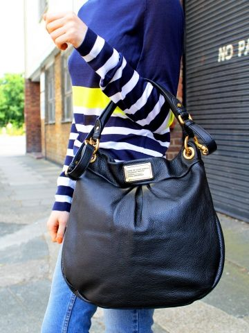 Classic Q Hillier Hobo by Marc by Marc Jacobs - Glassworks Studios I love this.....
