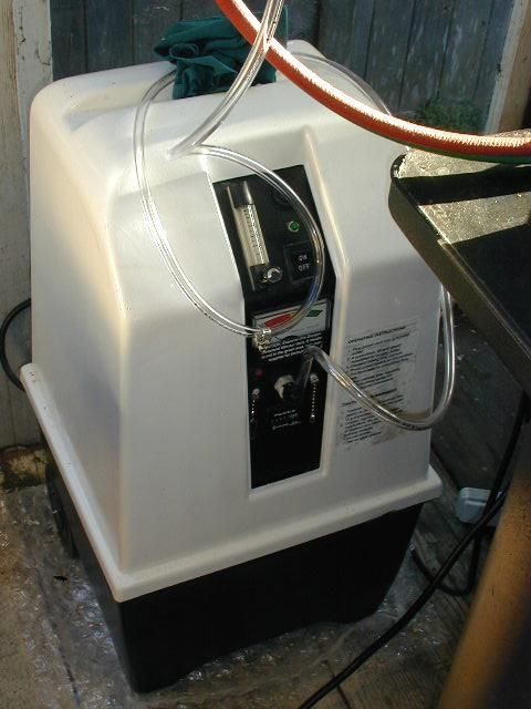 Using a DME Oxygen Concentrator for Lampworking