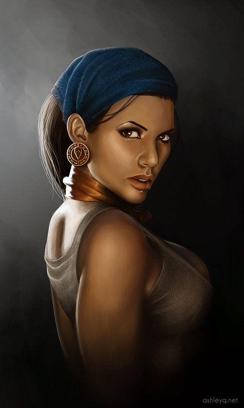 senseorsensuality: My Pirate Queen by =Ashley-Q - logangaiarpg