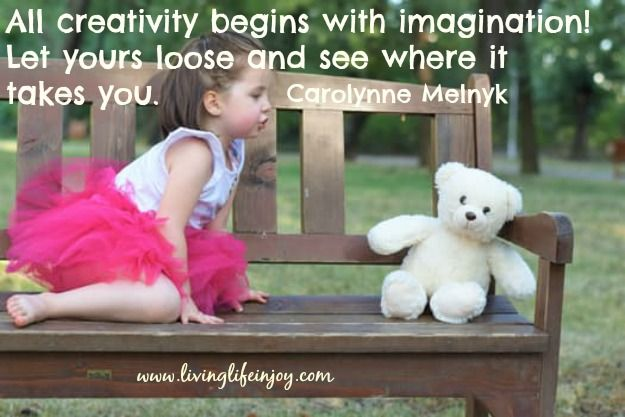 Let your imagination loose and create what your soul would like to see.