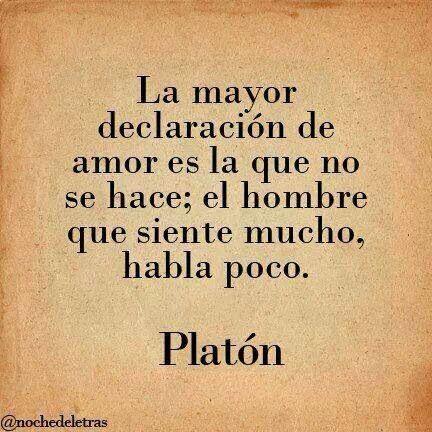 Más de 1000 ideas sobre Citas De Platón en Pinterest   Citas De ...