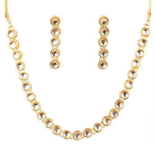 Traditional Gold Plated Party Wear Bollywood Indian Kundan Necklace Set Exclusive Jewellery, http://www.amazon.com/dp/B0721FBCWD/ref=cm_sw_r_pi_dp_x_jlnvzbH2H3NCD