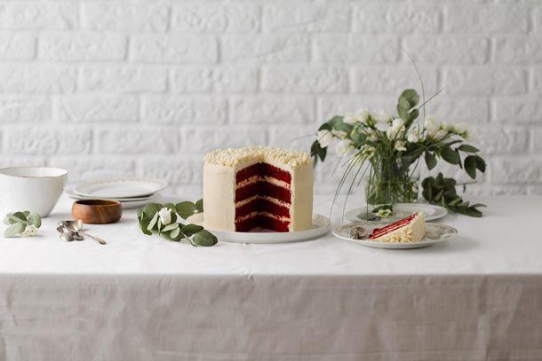 Receta de red velve cake, Food and cook
