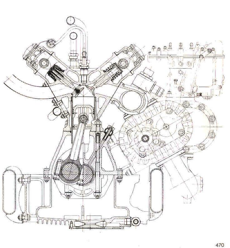 the gioachino colombo u0026 39 s 8 cylinder 1500 cc 159 engine