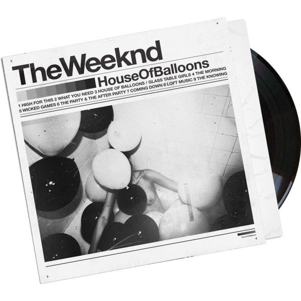 The Weeknd House of Balloons ❤ liked on Polyvore featuring fillers, music, other, accessories, backgrounds, text, quotes, embellishment, detail and phrase