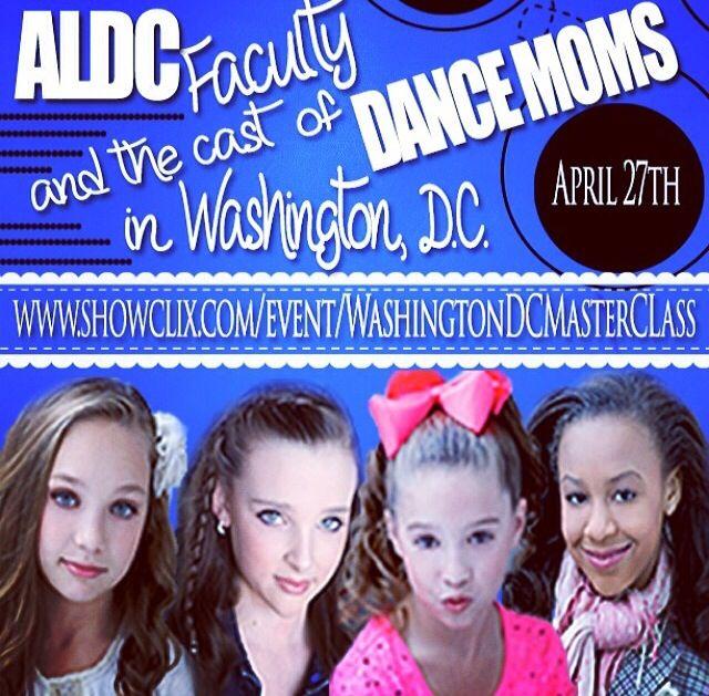 10 best meet and greets images on pinterest dance dance moms come meet us in dc httpshowclix mackenzie zieglermaddie m4hsunfo Gallery