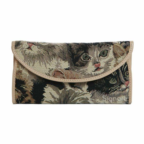 Handbags with Cats On Them | Producten Zoek op Design / Afbeelding Katten Portemonnee Envelop Kat