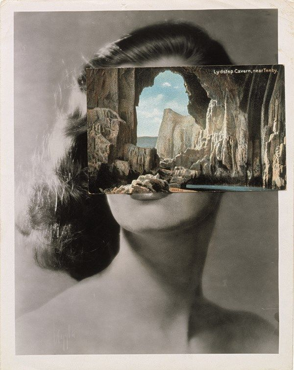 Hidden Heads, Part 4: John Stezaker, Mask XXXV, 2007