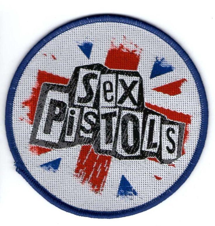 Parche bordado Sex Pistols  / Original metal patch