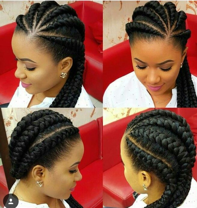 big braid hair styles 25 best ideas about big cornrows on black 9054