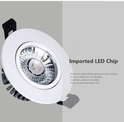Details about 2 Pcs 5W LED Recessed Ceiling Lights Slim