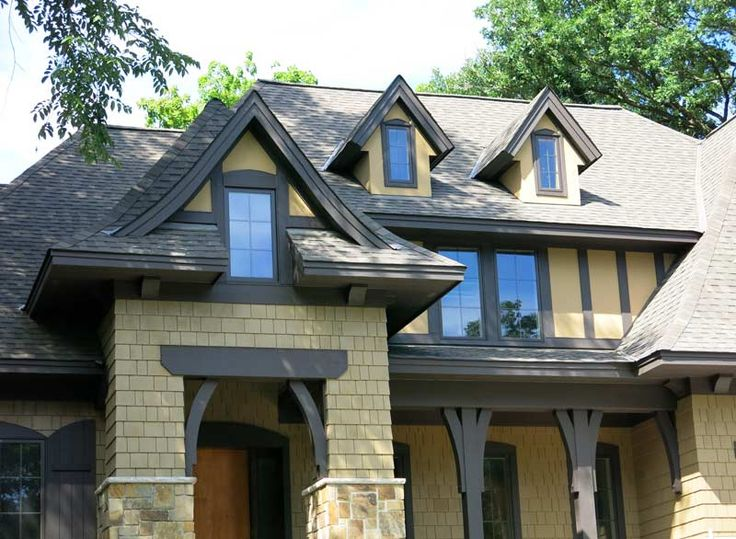20 best highmark exteriors homes images on pinterest for Tudor siding