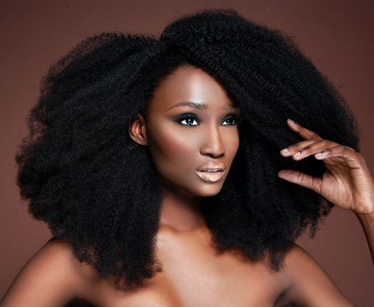 """For Kinks"" Goddess Wig - Heat Free Hair Movement Oh it is a Goddess wig for sure! Just Gorgeous! A girl can dream!"