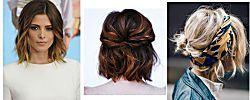 Peinados para pelo corto y media melena súper sencillos y bonitos. ¿Te apuntas?