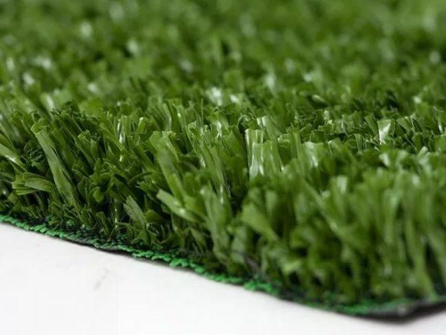 Покрытие искусственное Трава в рулоне (газон) латекс, 2х25м  высота 12мм