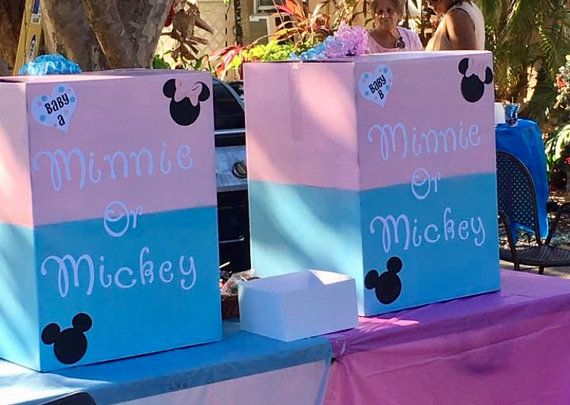 Disney Gender Reveal by JayleeBowtique on Etsy