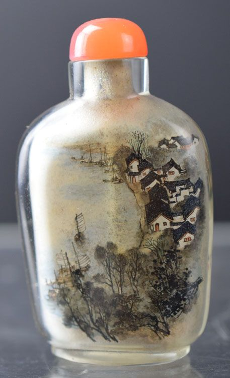 Buy online, view images and see past prices for Chinese reverse painted Peking glass snuff bottle. Invaluable is the world's largest marketplace for art, antiques, and collectibles.
