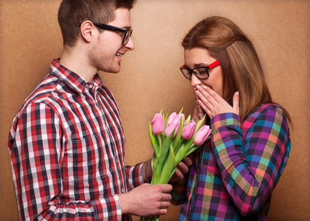 30 ways to show your wife you appreciate her; give her flowers for no reason except to say I love you.
