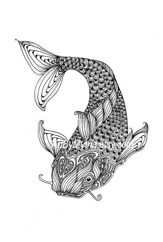 zendoodle coloring pages free | Zendoodle Coloring Pages | Zendoodle Fish Printable ...
